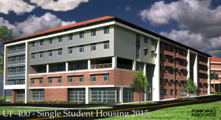 Rendering of Cypress Hall